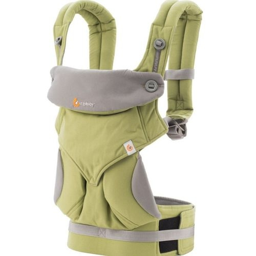 美國Ergobaby 360度四向寶寶揹巾背巾背帶-綠色2年保固衛立兒生活館