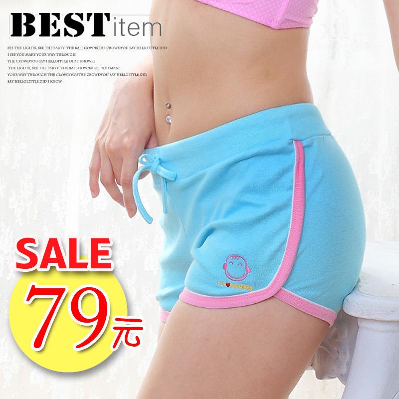 活力棉質運動短褲。限量特價~~[免免線購商城]