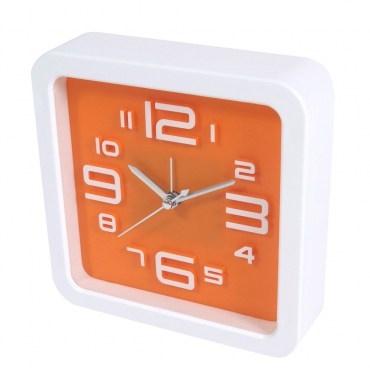 超靜音方形立體數字鬧鐘