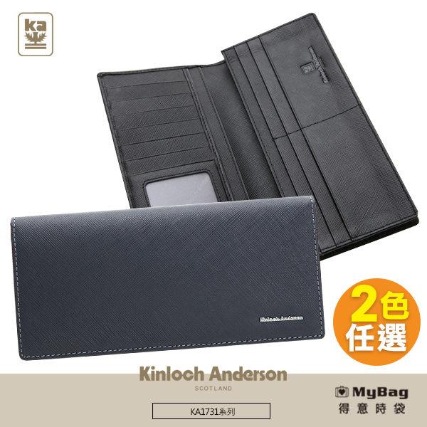 Kinloch Anderson 金安德森 皮夾 引領風潮 12卡基本窗格長夾 KA173105 得意時袋