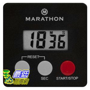 [104美國直購] MARATHON 黑色100分鐘定時器 B00GP1H9X4 TI080006-BK Digital 100 Minute Timer w Magnetic Clip $307