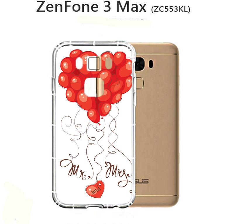 ✿ 3C膜露露 ✿{紅色氣球*防摔空壓軟殼} ASUS 華碩 ZenFone 3 MAX手機殼 手機套 保護套