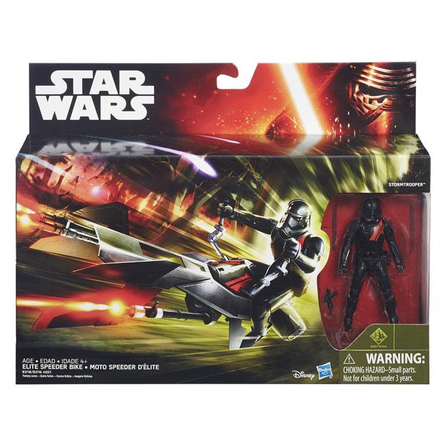 孩之寶流行玩具星際大戰電影7 3.75吋系列等級1交通工具組B3718