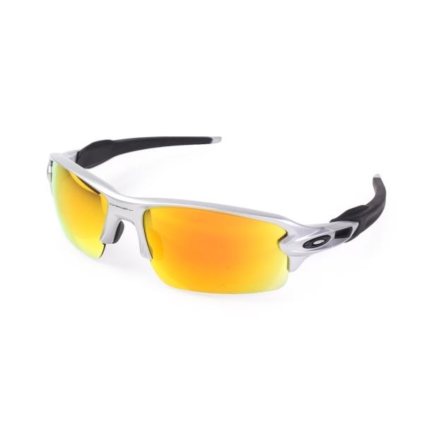 OAKLEY FLAK 2.0 SILVER免運太陽眼鏡慢跑登山抗UV威達運動