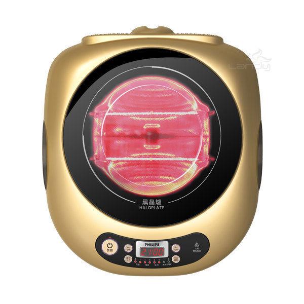 《長宏》PHILIPS 飛利浦黑晶爐【HD4990/HD4990】適用任何鍋具~可刷卡,免運費~