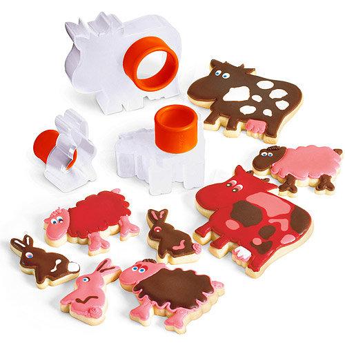 《CUISIPRO》可愛動物餅乾壓模器