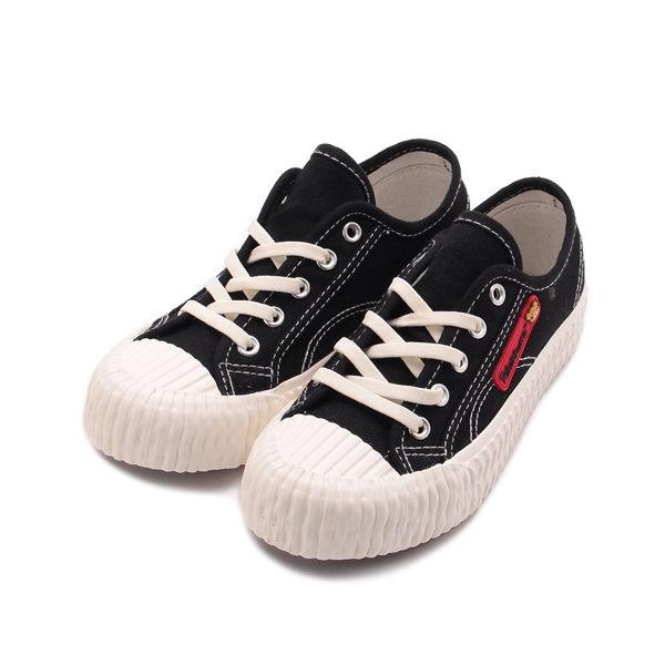 拉拉熊 韓式餅乾鞋 黑 R126 中大童鞋 鞋全家福