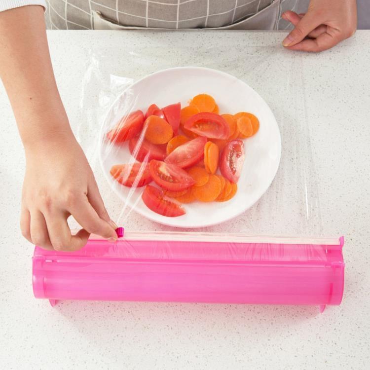 超豐國際保鮮膜切割器家用創意小工具廚房用品神器保鮮紙盒子切割盒