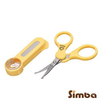 聰明媽咪-Simba小獅王辛巴放大鏡安全剪刀曲面