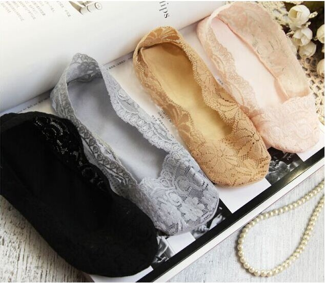熱銷 少女蕾絲 芭雷古典優美 氣質 多色彩 隱形襪 短襪 襪子