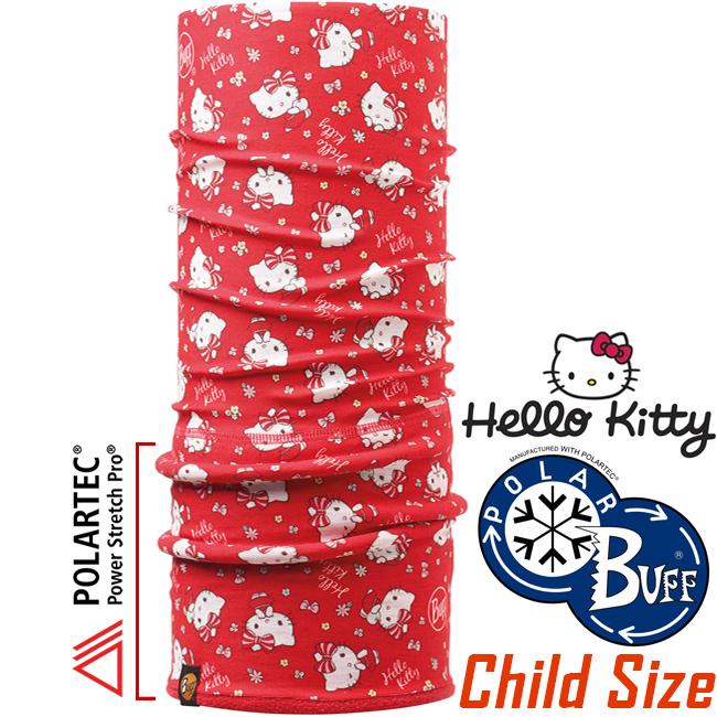 BUFF 110906 Hello Kitty授權Child Polar兒童單面保暖魔術頭巾Polartec機能布料東山戶外