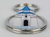 ☆猴子設計☆ 2265 中正紀念堂-立體鑰匙圈