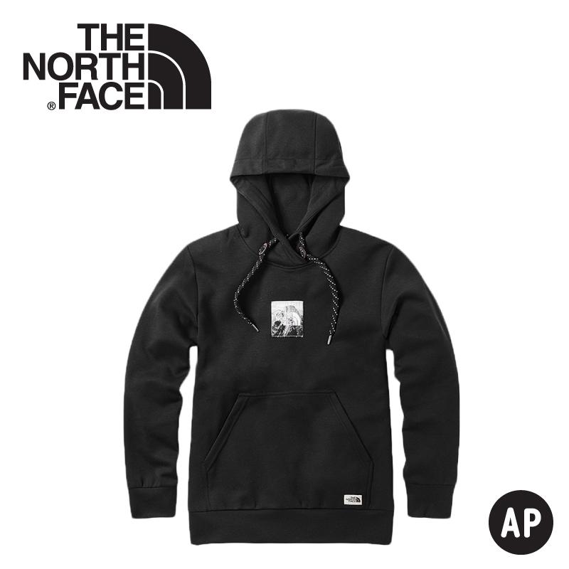【The North Face 男 快乾休閒帽T《黑》】3VTH/連帽長袖/帽T/保暖長袖/長袖上衣