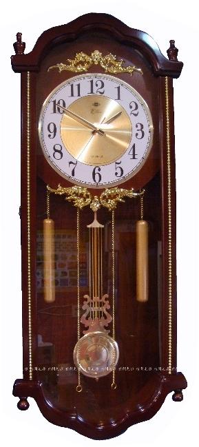時間光廊日本機芯木製老爺鐘擺鐘整點打點報時台灣組裝全新原廠TY847