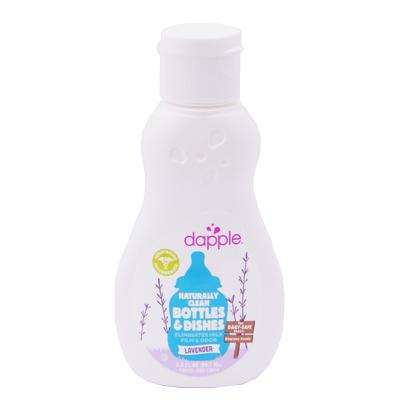 美國 Dapple Baby無香 奶瓶及餐具清潔液90ml(外出攜帶用)