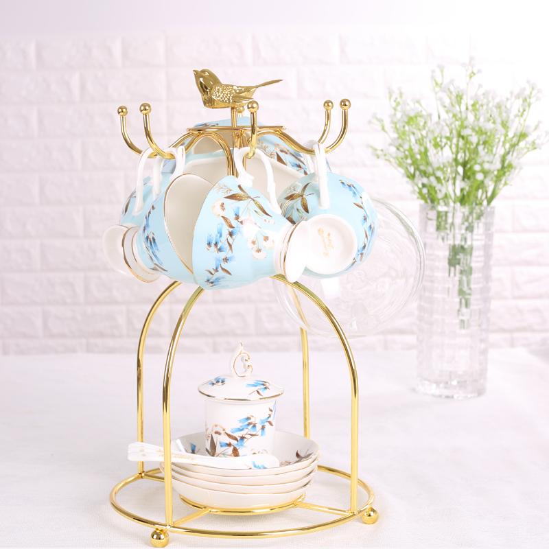韓式不鏽鋼茶杯架水杯架040781通販屋