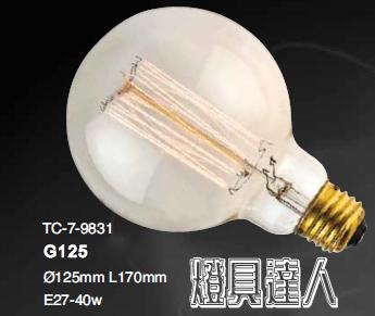 LOFT光源系列9831家庭咖啡廳居家裝飾LED工業風重點照明餐桌燈具達人
