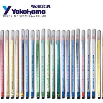 YOKOHAMA 日本橫濱 暗記繪畫專用色鉛筆28色 6支/ 盒