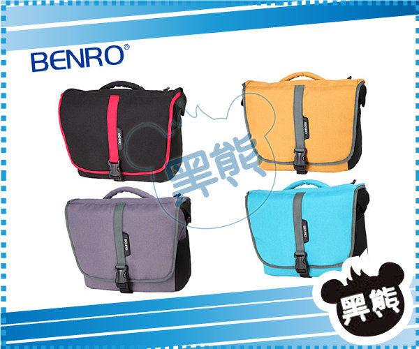 黑熊館Benro百諾SMART精靈系列BENRO百諾20單肩背包一機兩鏡一閃燈10寸筆電勝興公司貨