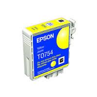 EPSON T075450 / T0754 黃色相容 墨水匣 C59/CX2900!!亮黑高品質進口相容/墨水匣(裸包沒紙盒)