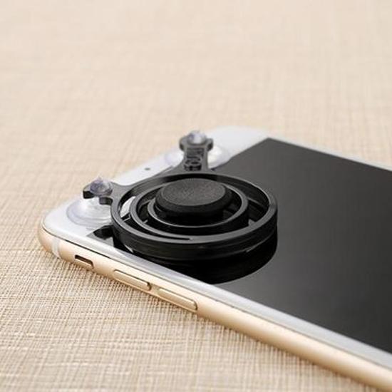 米菈生活館P57果凍色系手機搖桿遊戲搖桿吸盤搖桿類比搖桿遊戲神器免藍芽