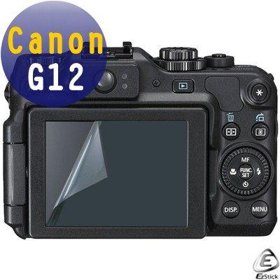 EZstick靜電式數位相機螢幕貼 - Canon G12 專用 (二入裝)  贈(通用型 相機機身貼)