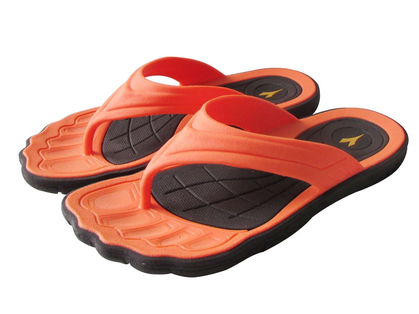 『雙惠鞋櫃』◆DIADORA迪亞多那 ◆兒童款 英雄系列 人字運動拖鞋 ◆ (DA2561) 桔