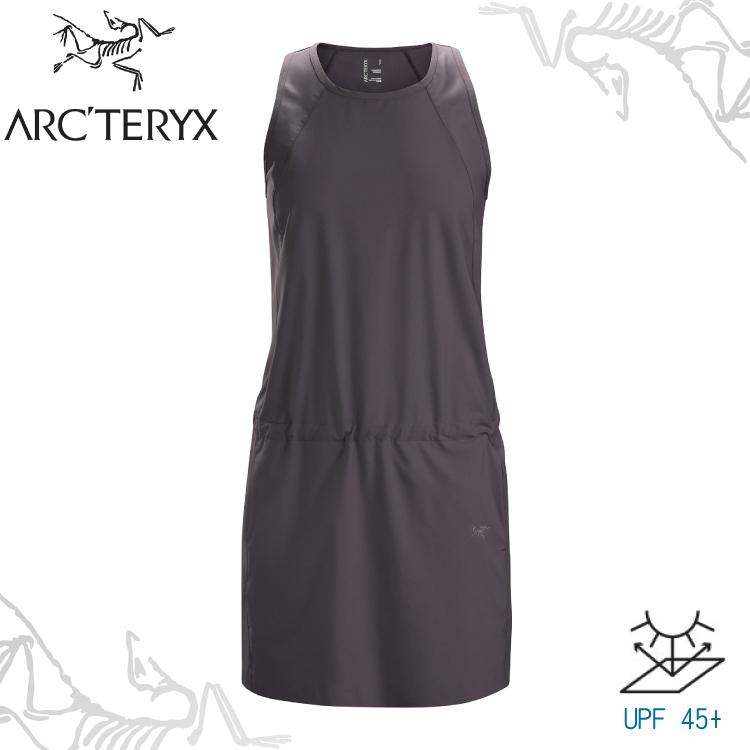 【ARC'TERYX 始祖鳥 女 Contenta連身裙《威士忌褐》】23065/防曬/無袖/低腰連身/透氣/彈性速乾