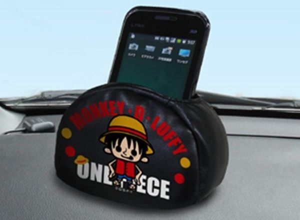 車之嚴選cars go汽車用品CE59日本ONE PIECE航海王海賊王PW魯夫手機置物袋收納袋