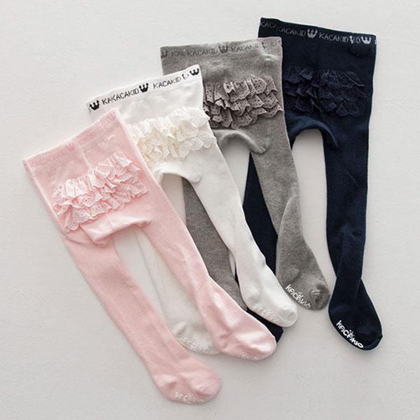 ins蛋糕裙褲襪毛襪長襪襪公主洋裝包屁衣百搭可愛蕾絲白粉灰深藍NXS