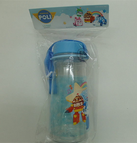 妮好快樂韓國直送POLI救援小英雄兒童水壺450ml