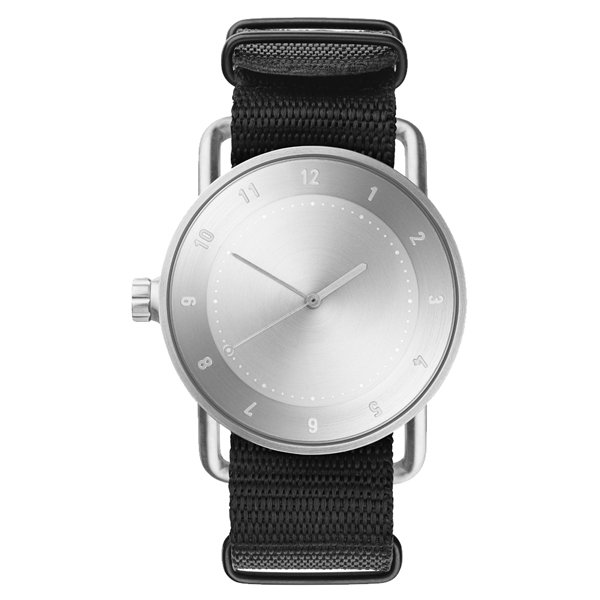 TID Watches No.2-經典黑x尼龍錶帶/40mm