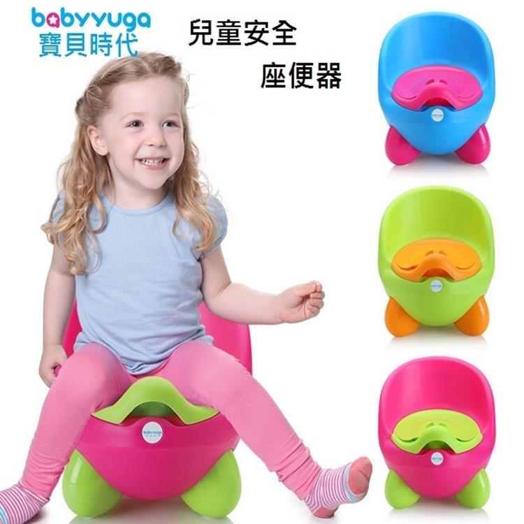 寶貝時代BabyYuga兒童馬桶便盆二合一QQ座便器坐便器兒童學習馬桶寶寶馬桶便盆塔克