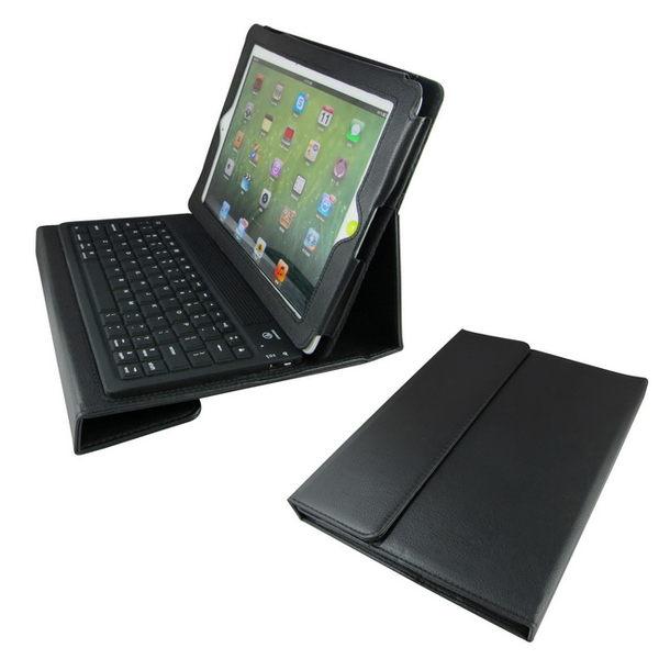 L16款iPad2藍芽鍵盤保護皮套