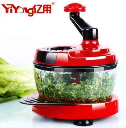 家用手動攪拌機多功能攪蒜泥絞肉碎菜機yhs2310 123休閒館