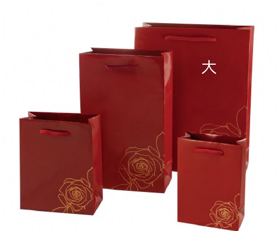 紙袋-紅玫瑰款