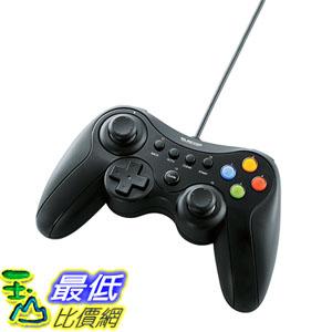 東京直購ELECOM JC-U3613MBK手把搖桿USB連接頭Xinput DirectInput Xbox 12鍵振動連射