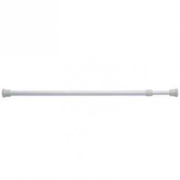 鐵製伸縮門簾桿 40~70公分-白色