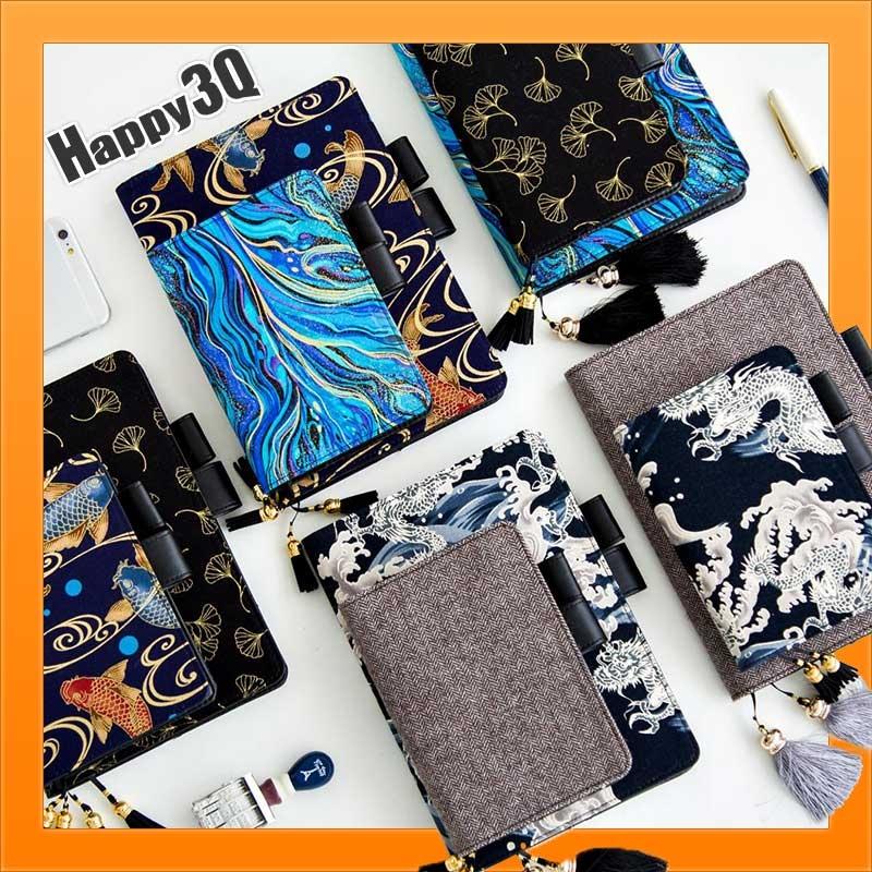 手帳本筆記本HOBO可用書衣A5尺寸A6尺寸手帳刺繡筆記本計畫本行事曆-多款AAA2644預購