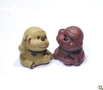 紫砂卡通猴子兩種泥料任選