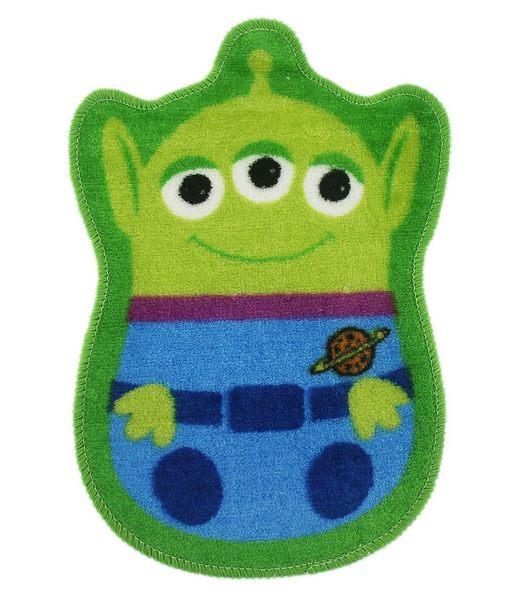 卡漫城三眼怪腳踏墊版玩具總動員Alien室內防滑墊止滑墊地毯地墊三眼仔