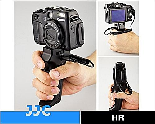 又敗家@JJC快門槍把HR CableF2支援Sony RM-VPR1快門線功能(不支援錄影)可換線for不同品牌相機身