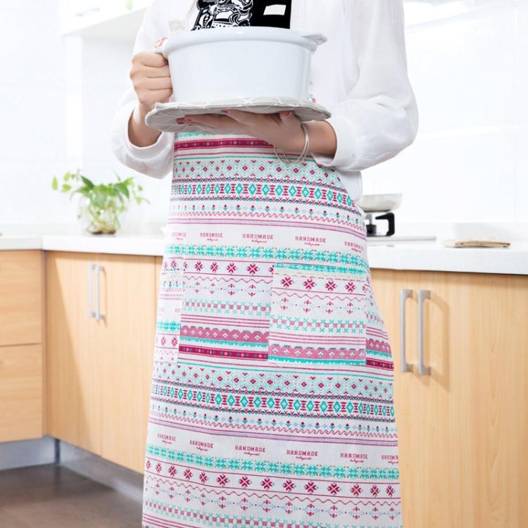 圍裙 - 圍裙防油做飯圍腰廚房成人家居時尚防水罩衣情人節禮物【superman】