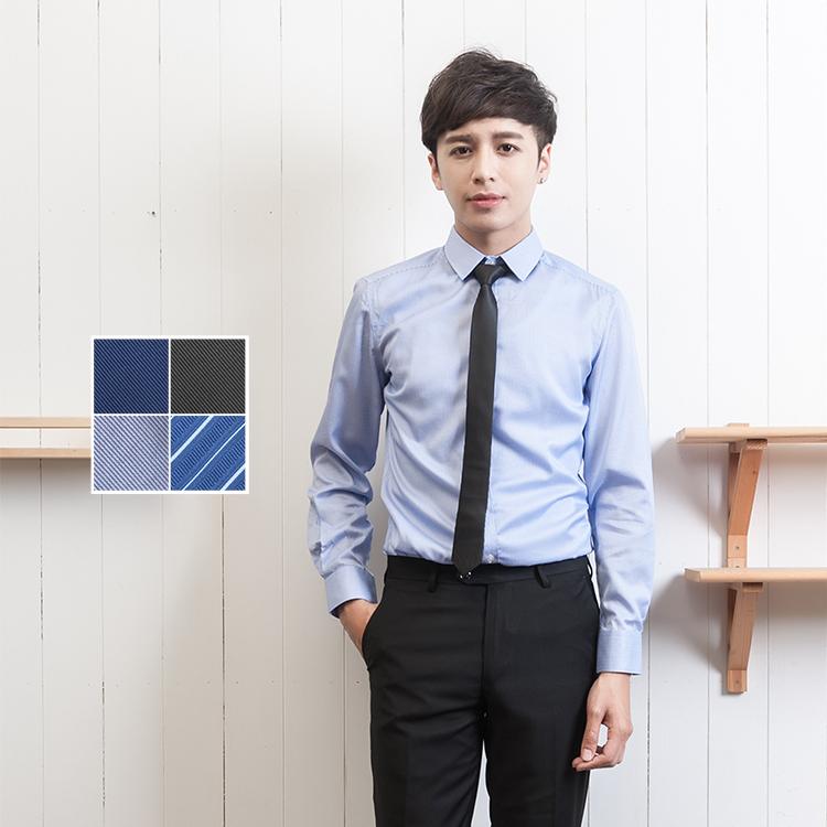大學報告碩士面試畢業照細黑色手打窄版領帶Sebiro西米羅男女套裝制服047000009