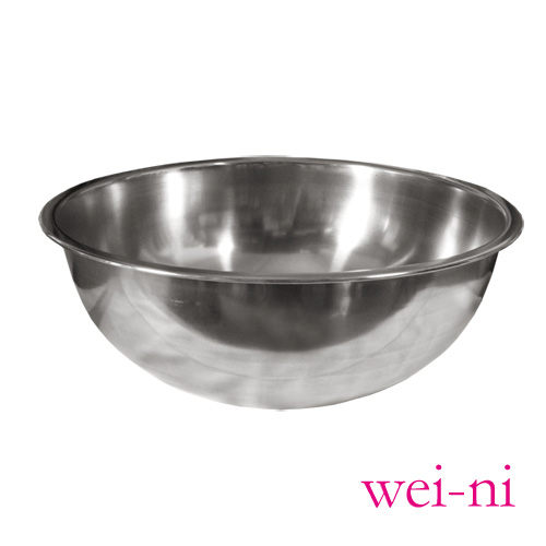wei-ni正304不鏽鋼打蛋盆30cm調理盆西點製作糕點烘培用具沙拉盆攪拌菜盤料理盆鍋盆台灣製