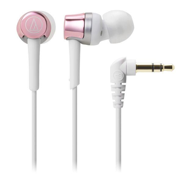 台中平價鋪全新鐵三角audio technica ATH-CKR30耳道式耳機粉紅色