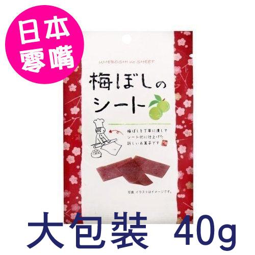 大包裝日本超夯i Factory板梅梅干片40g梅乾片梅干梅片梅子片