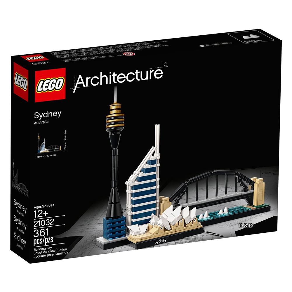 樂高積木 LEGO《 LT21032 》 ARCHITECTURE 世界建築系列 - Sydney 雪梨╭★ JOYBUS玩具百貨