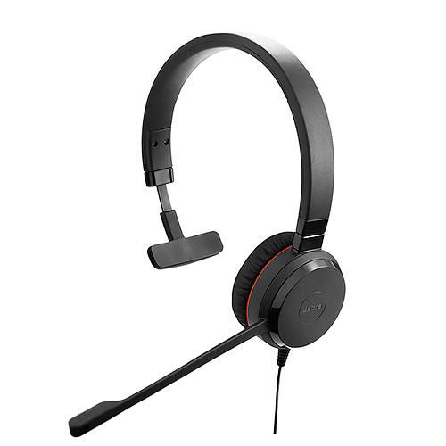 Jabra 捷波朗 EVOLVE 30 MS Mono 單耳 頭戴式耳機
