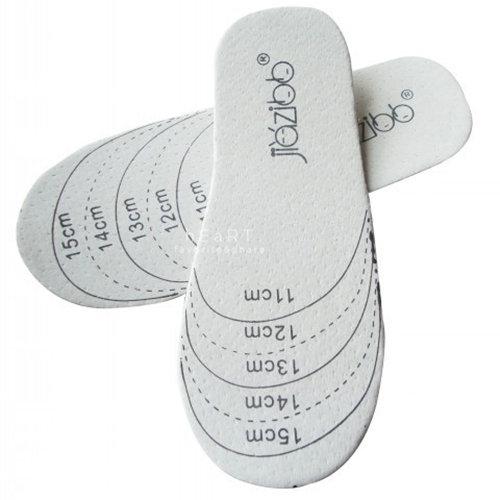 兒童柔軟豚皮可裁剪鞋墊 一雙入 皮鞋墊 童鞋